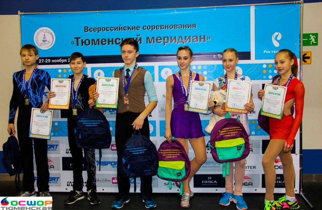 Соревнования Тюменский меридиан