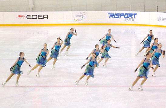 Первенство Тюменской области по синхронному катанию на коньках «Тюменские узоры».